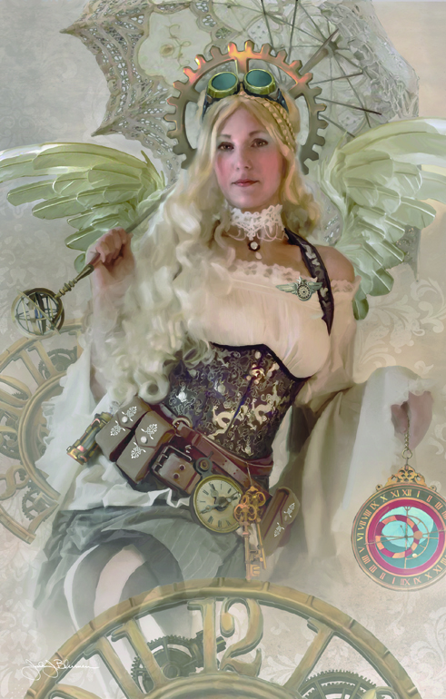 Steampunk Angel